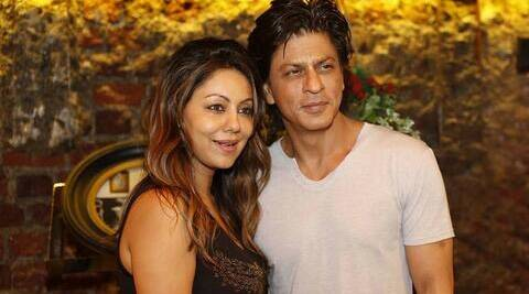 Gauri along with her son Aryan and daughter Suhana, was in Delhi to inaugurate her cousin's bakery shop.