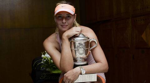 Maria Sharapova became the first Russian to win the same Grand Slam twice. (Source: Reuters)