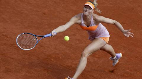 Maria Sharapova came back from a set down to defeat the Canadian 4-6,7-5,6-2 (Source: Reuters)