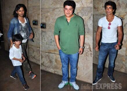 Salman Khan's family, Saif Ali Khan watch 'Humshakals'