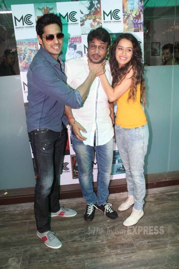 Shraddha Kapoor out with onscreen and offscreen loves – Sidharth, Aditya