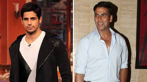 Sidharth is likely to be cast with actor Akshay Kumar in the film.