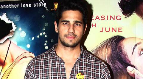 Sidharth Malhotra, but he says the young actor is working hard to give it his best shot.