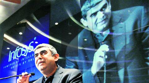 Infosys also disclosed that two other founders would quit their executive positions before the week ended.
