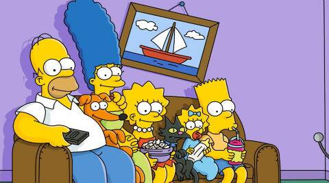 An artwork on 'The Simpsons' will be painted on the side of the Emerald Art Center in Springfield, Oregon.