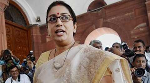 HRD Minister Smriti Irani has expressed shock over the tragedy and assured of all possible assistance to Himachal. (Source: PTI)