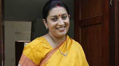 Smriti Irani has already shot extensively with Rishi Kapoorji and Abhishek Bachchan.