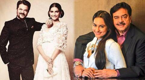 Sonakshi Sinha and Sonam Kapoor were bit by the nostalgic bug on Father's day (June 15).