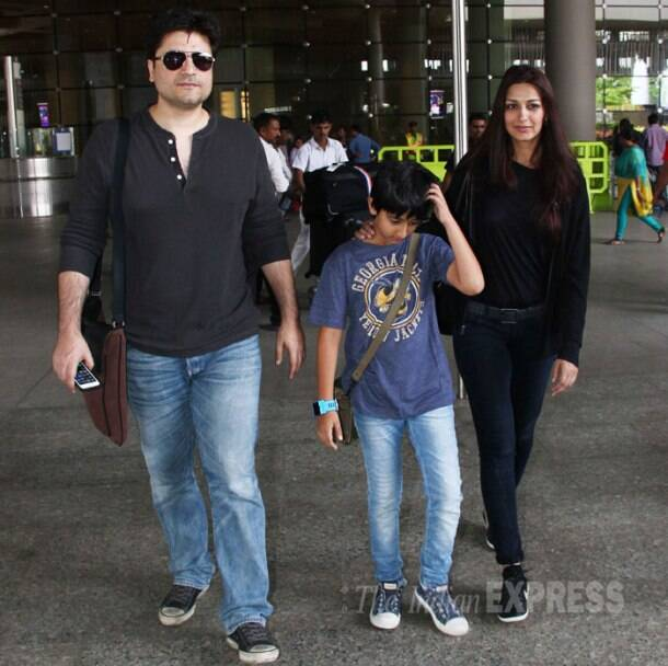 PHOTOS: Introducing Sonali Bendre's son Ranveer as he ...