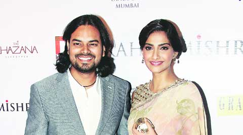 Sonam Kapoor was all praise for Rahul Mishra's aesthetics.
