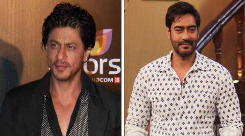 Shah Rukh Khan and Ajay Devgn recently patched up on the sets of Rohit Shetty's 'Singham Returns'.