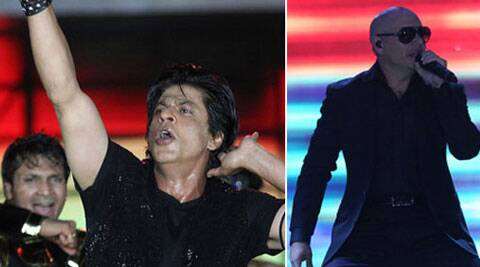 """I got to learn a few Bollywood footsteps, thanks to Shah Rukh. He is an amazing performer, full of energy. There is nothing as of now, but I would definitely love to work with him in the future,"" Pitbull said."