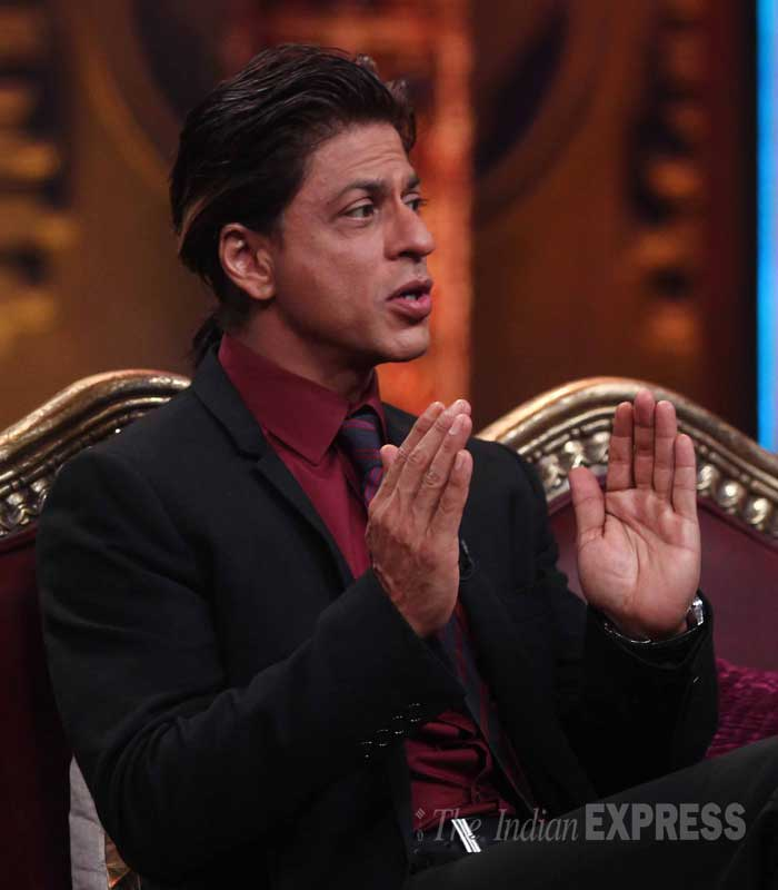 "Anupam Kher also took to Twitter to thank Shah Rukh for appearing on his show. ""Thank You @iamsrk for sharing your inspiring life with me on #TheAnupamKherShow. You are the BESTEST.:),"" he posted. (Source: Varinder Chawla)"