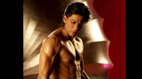 SRK will go topless and flaunt his abs yet again.
