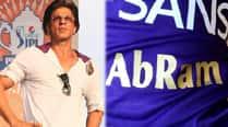 Shah Rukh Khan gets KKR jersey for AbRam for IPLfinale