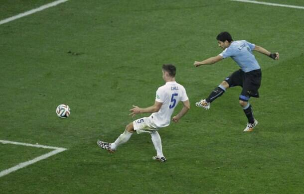 FIFA World Cup: Luis Suarez tames Three Lions