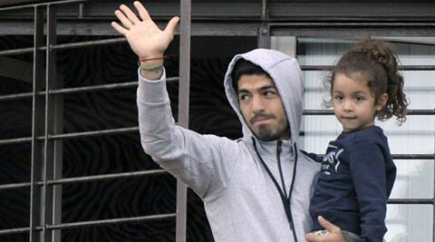 Suarez has returned home to Montevideo and was given a hero's welcome, even the Uruguayan president visited him on his arrival. South American Leftists have lashed out at European football powers and showed their support for Suarez. (Source: AP)