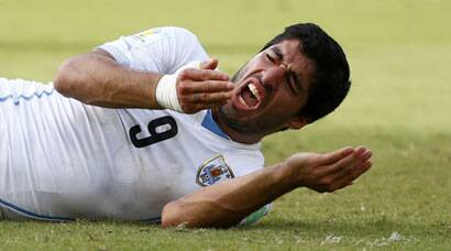 FIFA World Cup: Is it a mouse, a tiger? It's Luis Suarez