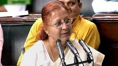 Speaker Sumitra Mahajan over-ruled their objections and started the process for the passage of the bill.
