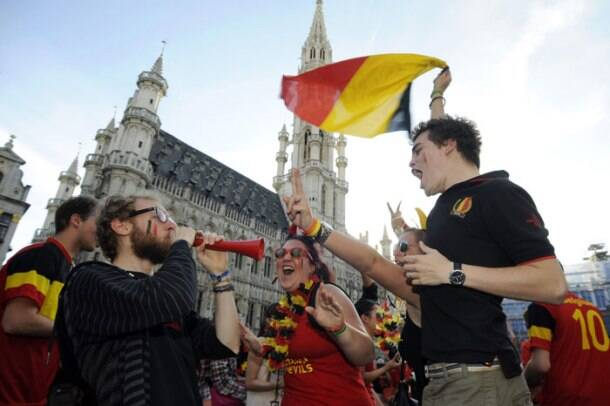 FIFA World Cup: When Belgium fans painted the town 'red'