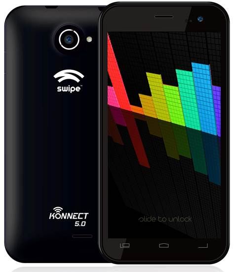 Swipe Konnect 5.0_Black Color