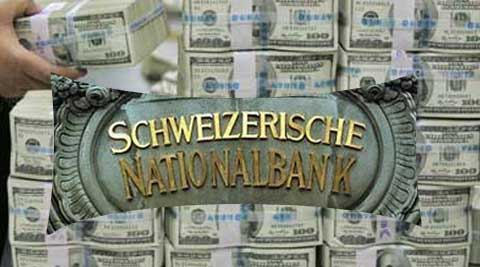 The official dismissed the claims that black money stashed in Swiss banks by Indians could be trillions of dollar. (Source: PTI)