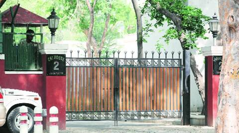 Sylvia Moin's firm organised both the parties at the CBI Director's official residence (above).