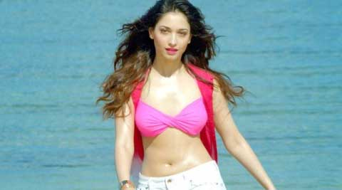 "Tamannaah Bhatia siad, ""I had to pull down a few kg to look a certain way."""