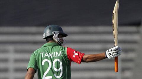 Bangladesh batsman Tamim Iqbal is hopeful of finding form in series against India. (Source: AP File)