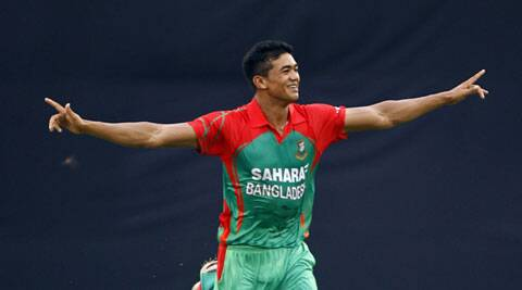 Taskin Ahmed's five wickets on debut went in vain (Source: AP)