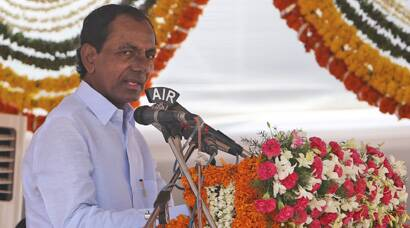 TRS govt installed in Telangana, KCR sworn in as first CM