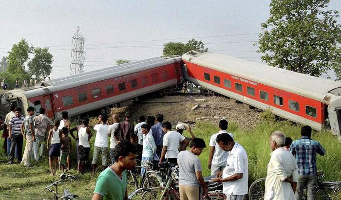 Reacting to the incident, that occurred at the Golden Ganj station near Chapra, a senior Railways official has said that a blast on the track could have caused the derailment. (Source: PTI)