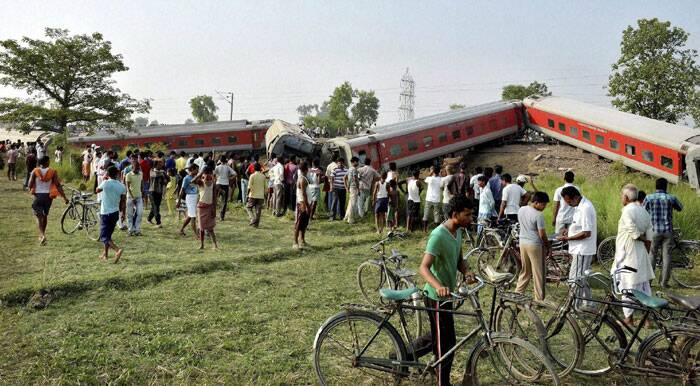 Railways Minister Sadanand Gowda expressed grief over the loss of lives in the mishap. He directed the Railway administration to render best possible treatment to the injured passengers. (Source: PTI)