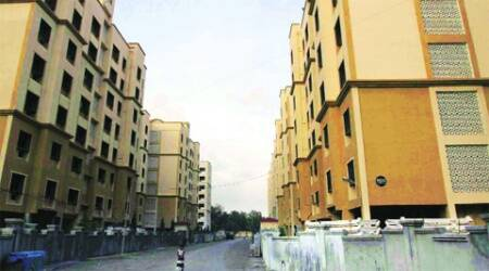 In case of Rajyog society, the state housing department directed MHADA to allot 225 apartments each with a carpet area of 965 sq ft to the society in August 2009.