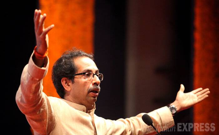 Uddhav Thackeray's estranged cousin and Maharashtra Navnirman Sena chief Raj Thackeray has announced his intention to contest the Assembly elections. (Source: Express photo by Prashant Nadkar)