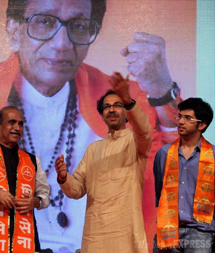 Uddhav Thackeray also said he has not applied his mind to whether he should contest the Maharashtra Legislative Assembly elections, due in four months. (Source: Express photo by Prashant Nadkar)