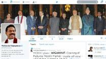 Social media diplomacy: Rajapaksa makes Modi's swearing-in pic his cover image