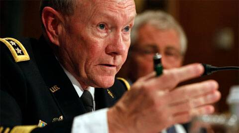 Chairman of the Joint Chiefs Gen. Martin Dempsey. (Source: Reuters)