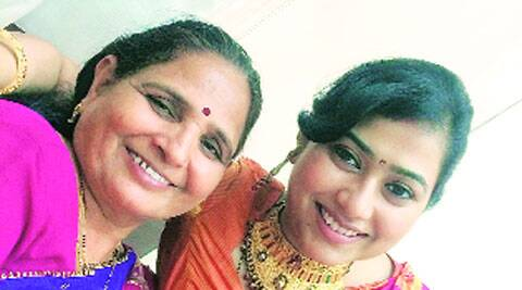 Shakuntala Vanzara with daughter-in-law Sudhambika
