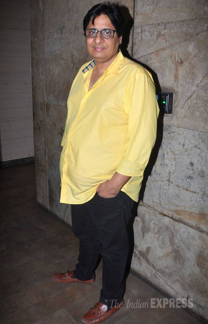 His producer father Vashu Bhagnani was also present. (Source: Varinder Chawla)