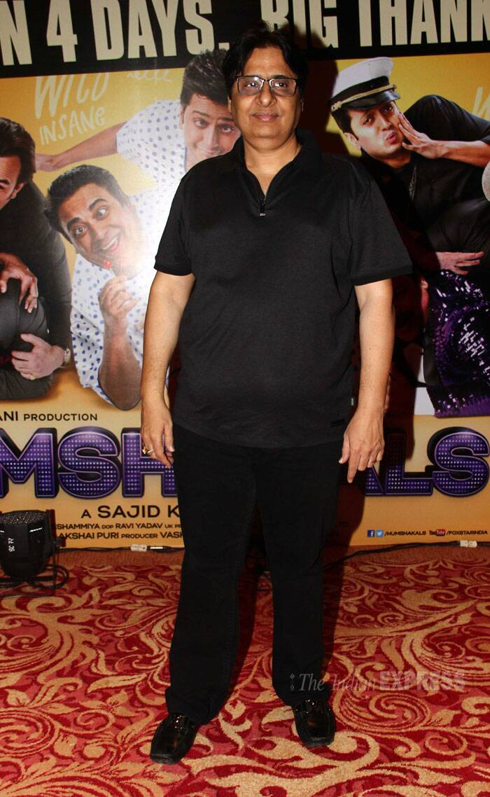 Producer Vashu Bhagnani also made it to the celebrations. (Source: Varinder Chawla)