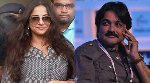 """Prosenjit and I are looking for a script which suits us both,"" Vidya Balan said."