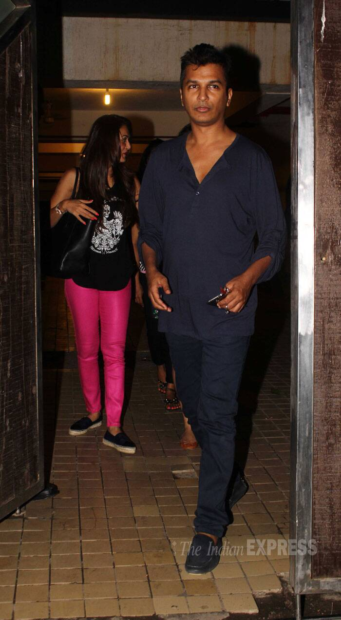Designer Vikram Phadnis was also at the party. (Source: Varinder Chawla)