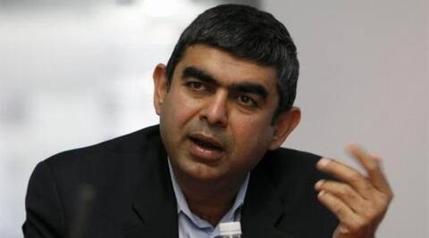 Vishal Sikka will take over from current Chief Executive S.D. Shibulal, one of the engineers who founded Infosys, on August 1.