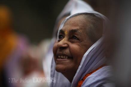 Widows from Benaras, Vrindavan mark International Widows day