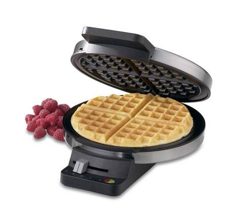 A waffle maker will help add variety to your menu while serving guests.