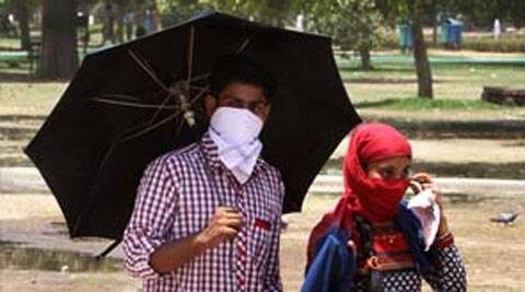 Humidity level touched almost 90 per cent even as mercury remained below the 40 degrees mark.