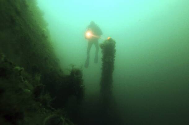 Exploring the sunken World War I warships