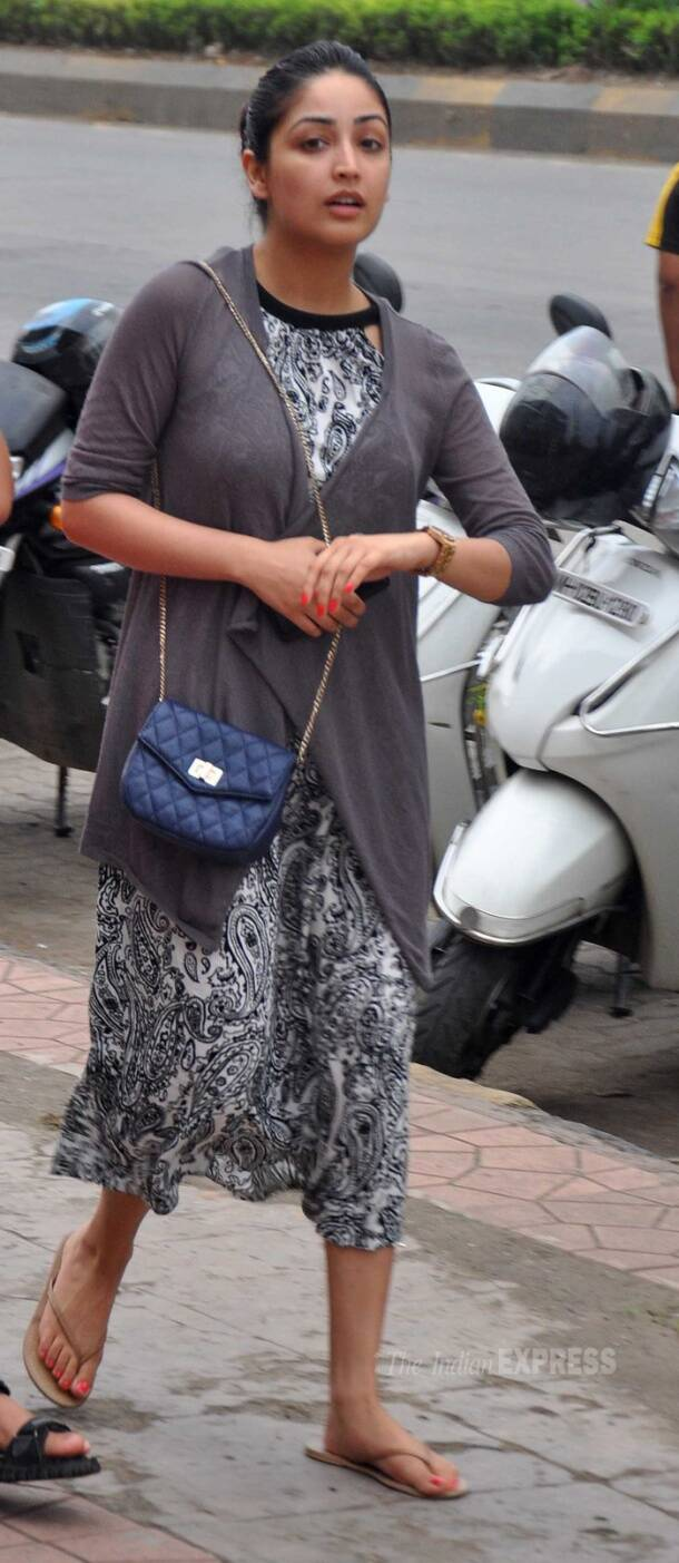 Yami Gautam's outing with family