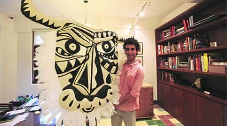 Jim Sarbh makes his directorial debut with Bull at the Tarq gallery.